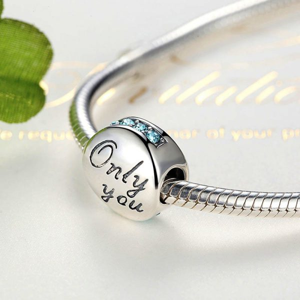925 Sterling Silver Romantic Charm