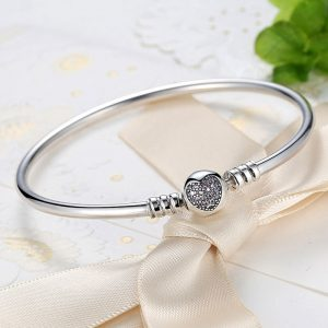 Being Loved Silver Bangle