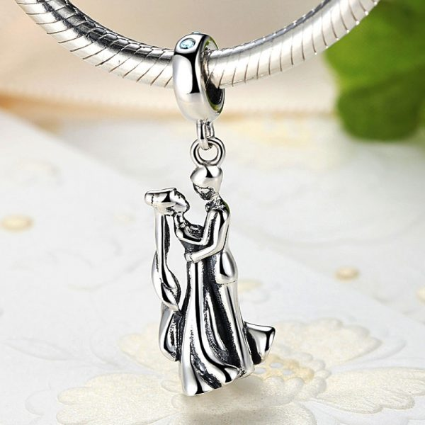 Sterling Silver First Dance Pendant