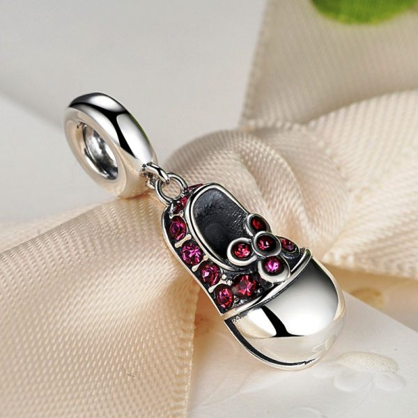 Sterling Silver First Step Pendant