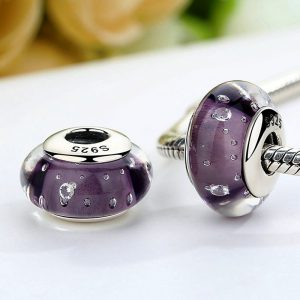 Purple Deep Murano Glass