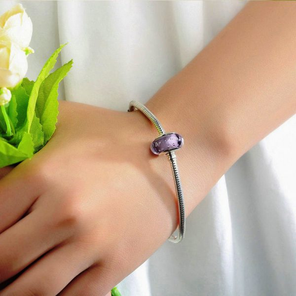 Purple Deep Murano Glass