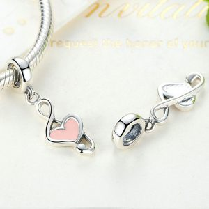 Heart Music Sterling Silver Pendant