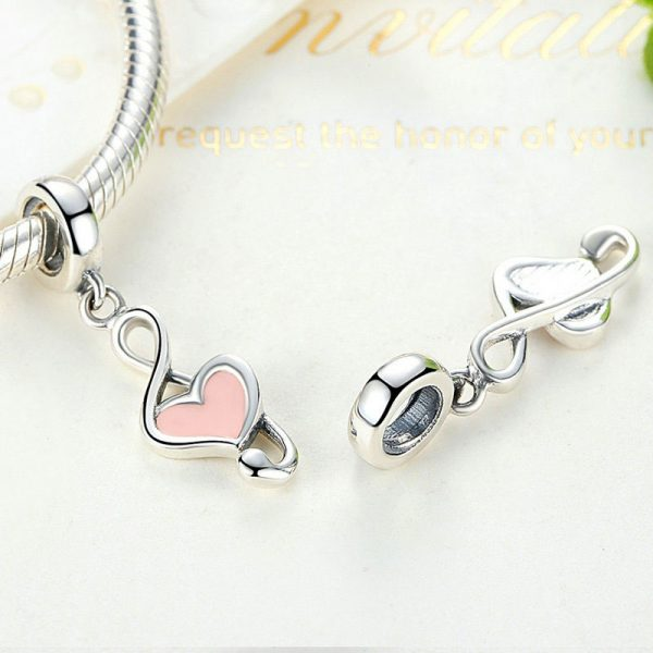 Heart Music Sterling Silver Pendant