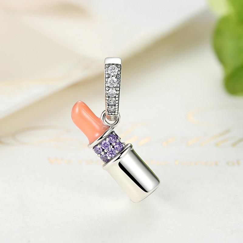 Sterling Silver Lipstick Pendant