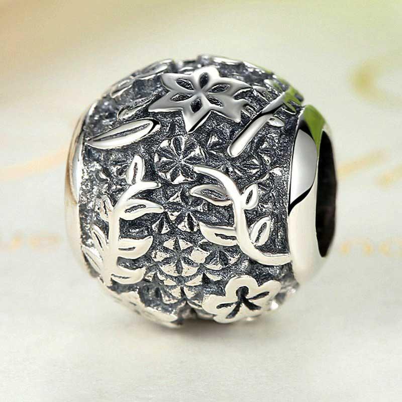 Sterling Silver Little Garden Charm