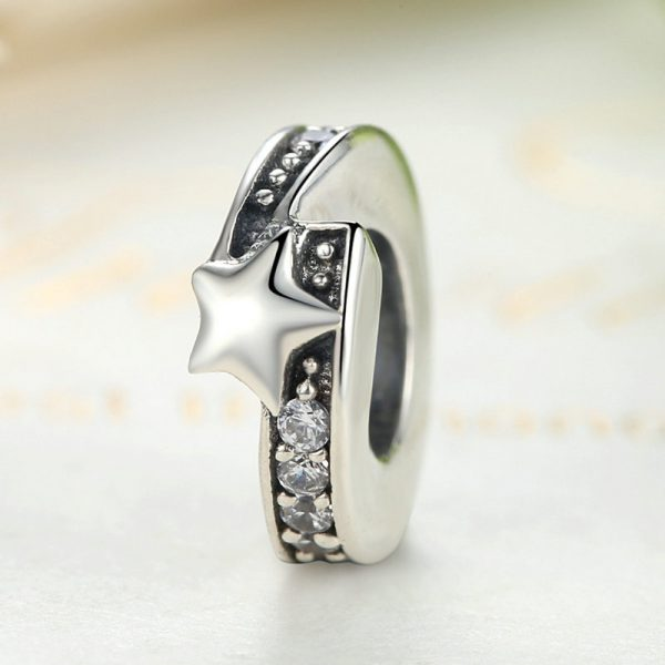 Morning Star Sterling Silver Spacer