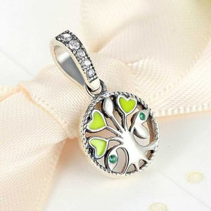 Tree of Love Sterling Silver Pendant